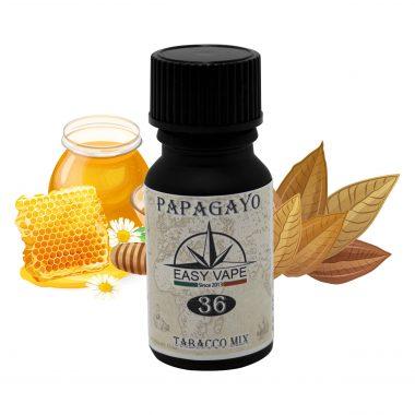 Aroma, Concentrato, Easy Vape, Papagyo, N°, 36, 10, ml, tabacco, tabaccoso, miele