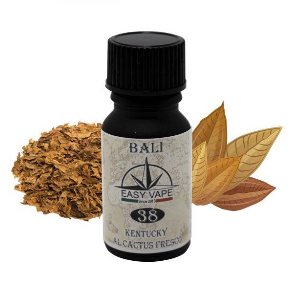 Aroma, Concentrato, Easy Vape, Bali, N°, 38, 10ml, tabacco, tabaccoso, kentucky, fresco, cactus